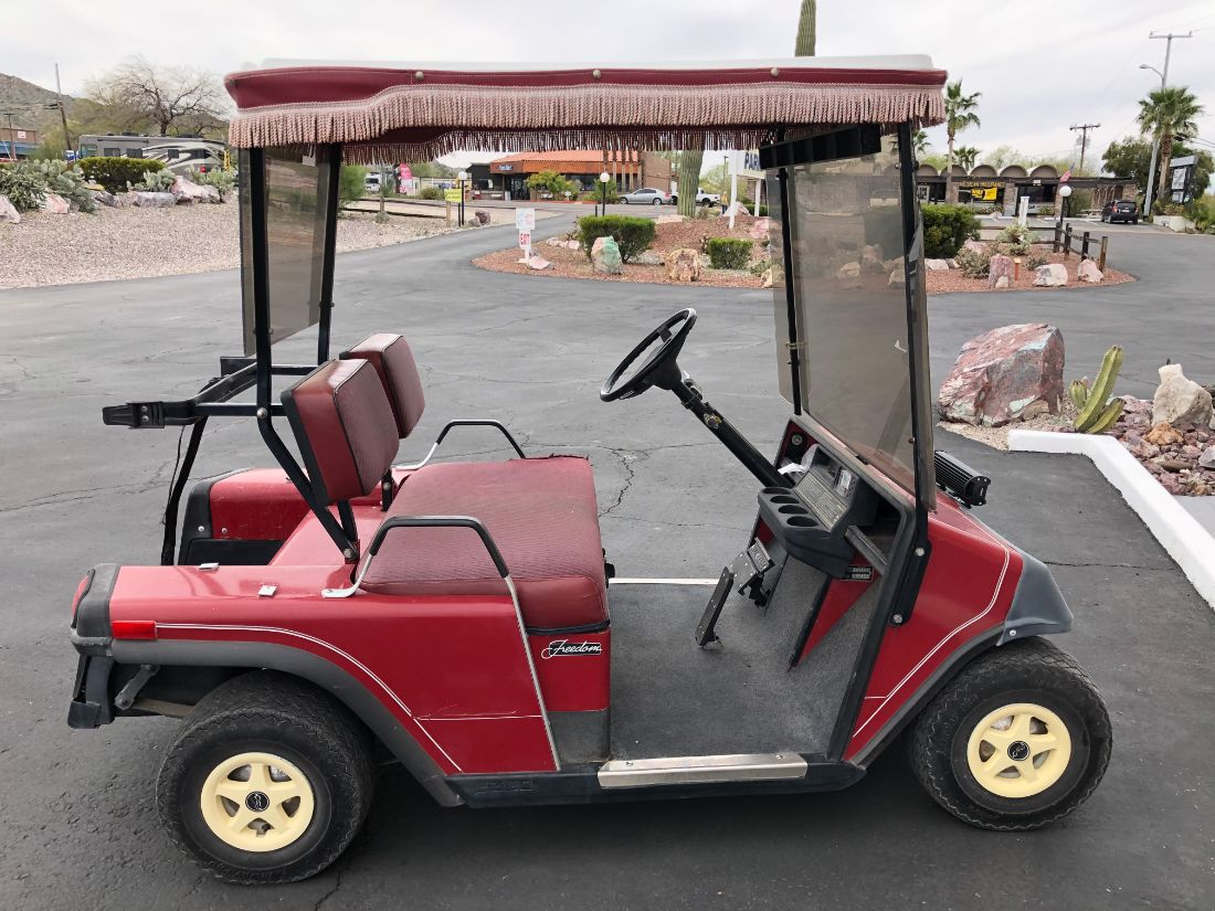 Ajo Heights - golf cart