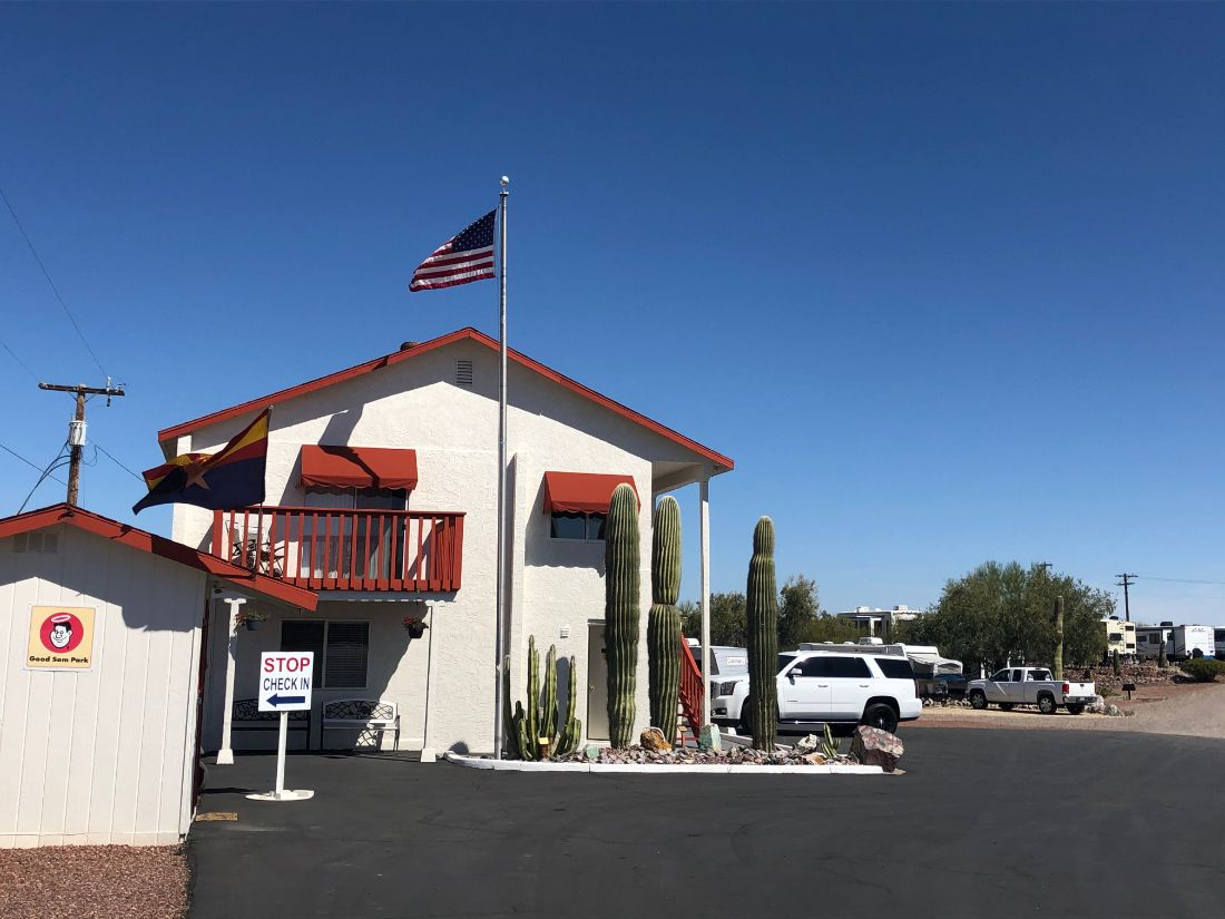 Ajo Heights office